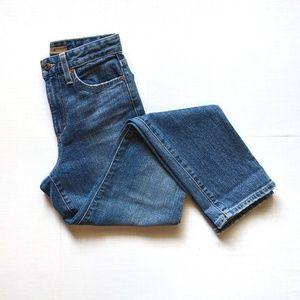 Joe's Jeans High Rise Straight Ankle Jean - EUC